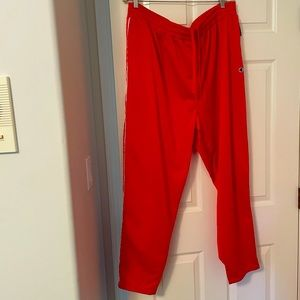 Champion signature red size 2x track pants NWT
